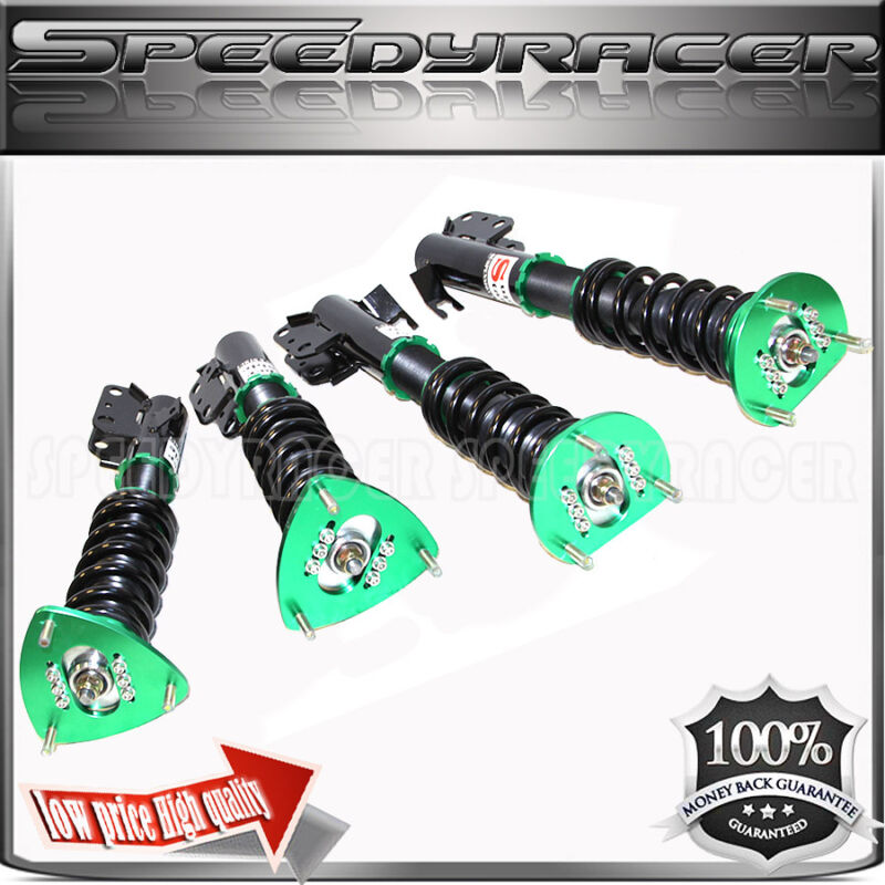 95-96 Subaru Impreza Full Coilover Suspension Kit Green