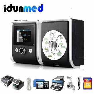 New BMC Luna Automatic CPAP machine with mask and humidifier