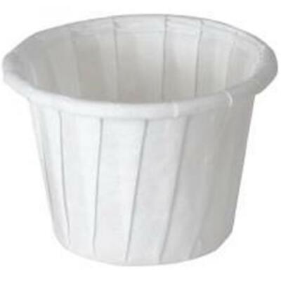 DISCOUNT! Solo Souffle Cups, Disposable, Paper, 0.5oz, White, PK/250, #050-2050