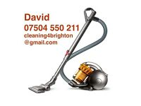 £50 Brighton House Flats End Of Tenancy Cleaners Vacuum Steam Carpets, Oven, Windows, Gardens Trees