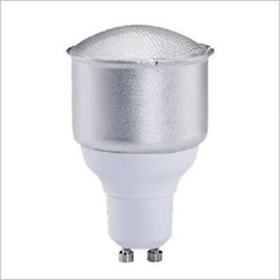 Gu10 Fluorescent Bulbs - 4 x 11W GU10 Compact Fluorescent Lamps / Globes / Bulbs 5000K Cool White CFL