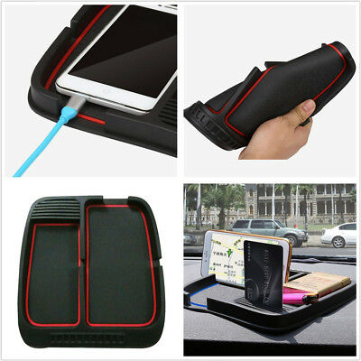 Portable Autos Dashboard Phone GPS Mount Holder Anti-Slip Silicone Mat Universal 760 Portable Gps