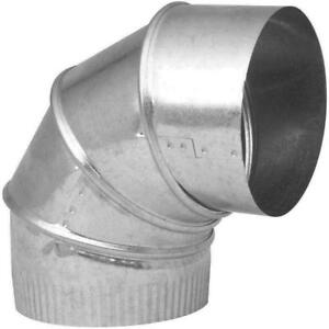 "6"" Galvanized Steel Elbow"