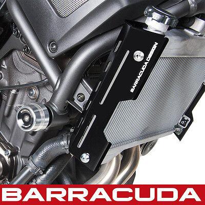 Barracuda - Yamaha XSR700 Radiator Side Covers - Alloy Black - Pair
