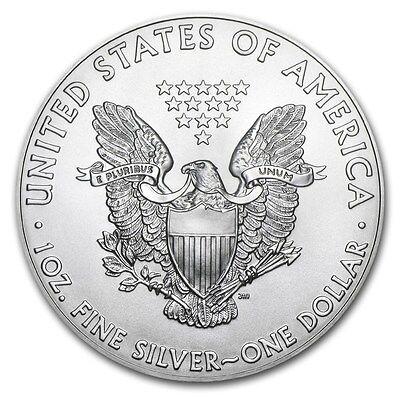 Silver 2011 American Eagle 1 oz. Coin - .999 fine silver American Eagles 1oz