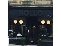 Full time fabulous floor staff for ROLLO Broughton