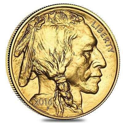 2016 1 oz Gold American Buffalo $50 Coin BU