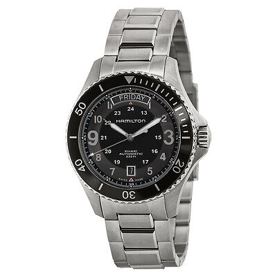 Hamilton Khaki King Scuba Black Dial Automatic Mens Watch H64515133