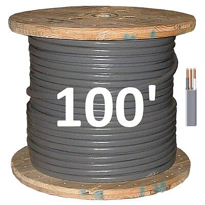 102 Uf 100 Underground Feeder Direct Burial Copper Conductors 3 Wirecable