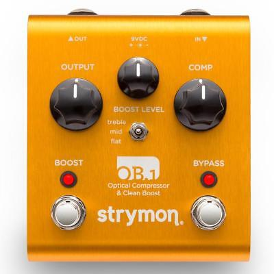 STRYMON OB.1 Optical Compressor & Clean Boost Guitar Effects Pedal w/ FREE PICK