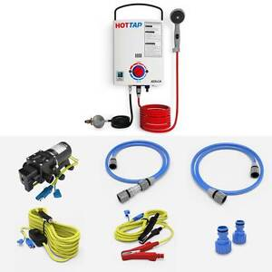 HOTTAP OUTING - LPG GAS PORTABLE HOT WATER HEATER + Carry Bag Campbellfield Hume Area Preview