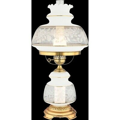 Quoizel 1 Light Satin Lace Table Lamp - SL703G Lace Traditional Table Lamp