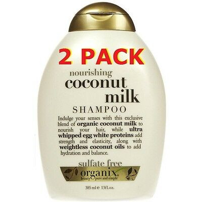Organix Shampoo Coconut Milk 13oz Nourishing