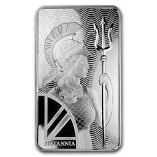 100 oz Silver Bar - The Royal Mint Britannia - SKU #178946