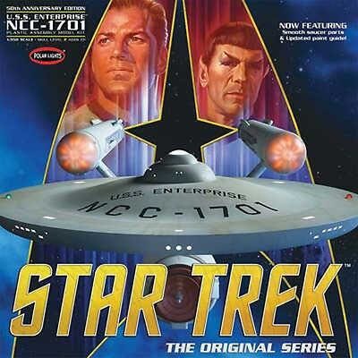 Polar Lights 1/350 Star Trek TOS Enterprise Plastic Model Kit POL938 PLL938 NEW