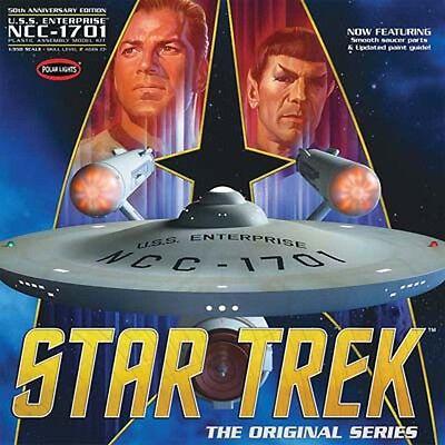 Polar Lights 1/350 Star Trek TOS Enterprise Plastic Model Kit POL938 PLL938 NEW