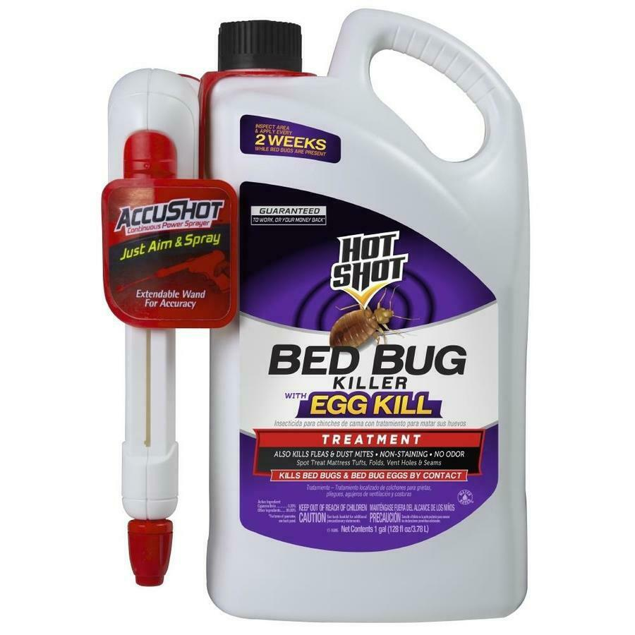 Hot Shot 1gallon Bed Bug Killer Egg Kill Large Kit Liquid