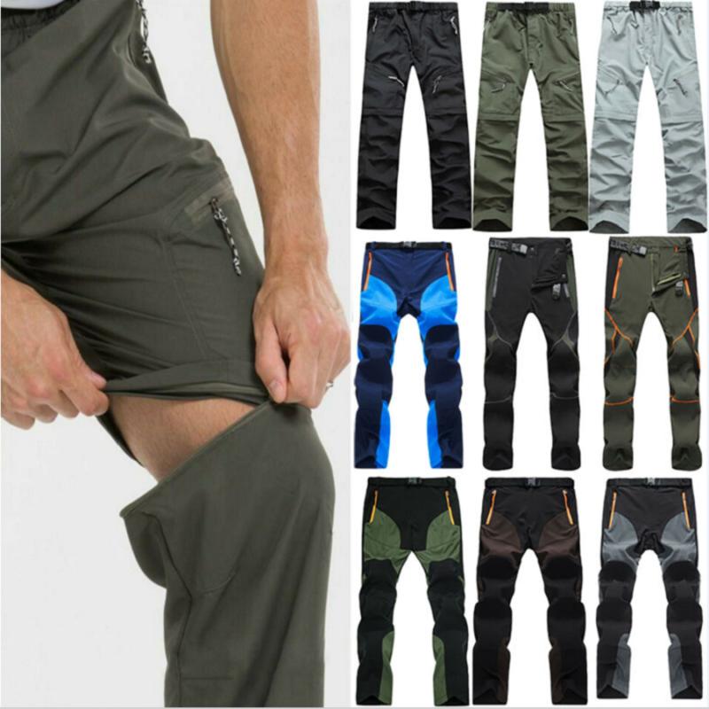 Men Long Pants Tactical Hiking Climbing Outdoor Combat Loose