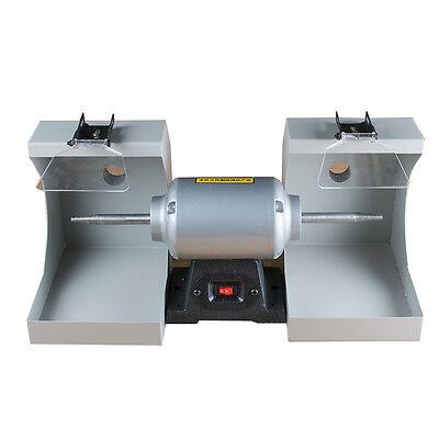 Dental Supplies Polishing Cast Lathe Machine Lab Equipment Lzq-2 Double 2 Tops