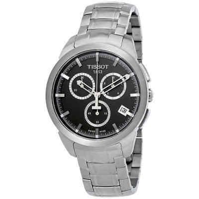 Tissot T-Sport Titanium Chronograph Anthracite Dial Men's Watch T0694174406100