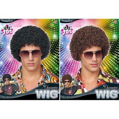 KLEINE AFROPERÜCKE # 70er 80er Jahre Disco Hippie Afro Perücke Kostüm Party - Perücke Disco Kostüm Accessoires