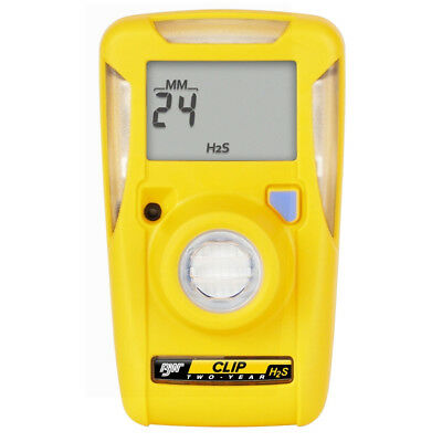 (BW Technologies- BWC2-H GasAlertClip Gas Monitor Extreme Hydrogen Sulfide (H2S))