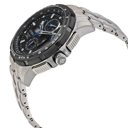 Citizen Promaster Skyhawk A-T Mens Limited Edition Titanium Watch JY8068-56E