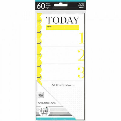 The Happy Planner Girl Classic Half Sheet Note Paper - Socialite - 60 Sheets