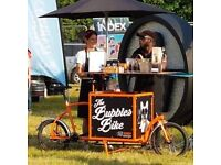 Bubbles Bar Bike for Hire