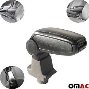 Mittelarmlehne Armlehne Schwarz Leder für Fiat Grande Punto Linea 2007 Passform