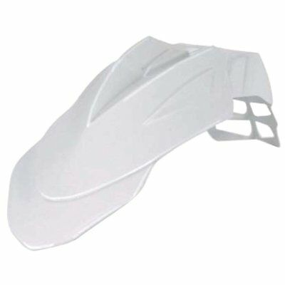 Parafango Moto anteriore Bianco ACERBIS Supermotard datate e freestyle
