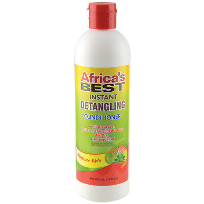 Africa's Best Instant Detangling Conditioner Anti-Breakage Hair w/ AloeVera