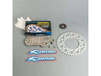 R1 Renthal Chain And Silver Sprocket Kit Raptor 660 01-05 40T Quad ATV