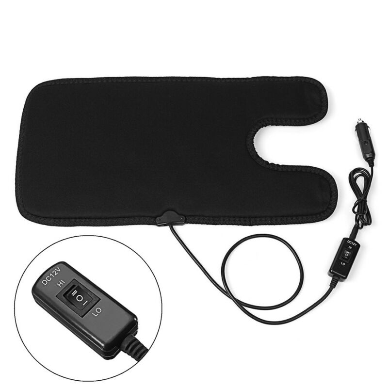 12V Car Heated Seat Cover Safety Seat Heater Cushion Pad w/ Switch for Bay Kid