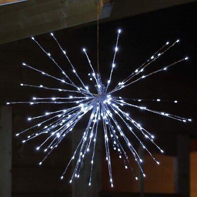 LED-Stern Lichterball mit 192 LED beleuchtet  Ø 68 cm für innen Deko Weihnachten ()