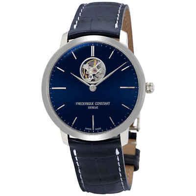 Frederique Constant Slimline Automatic Blue Dial Men's Watch FC-312N4S6