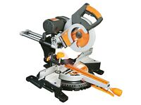 Evolution Fury Double Bevel Mitre Saw 230v