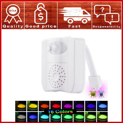 Glow Bowl Fresh Motion Activated Toilet Night Light w/ Air Freshener 16 (Glow Night Light)