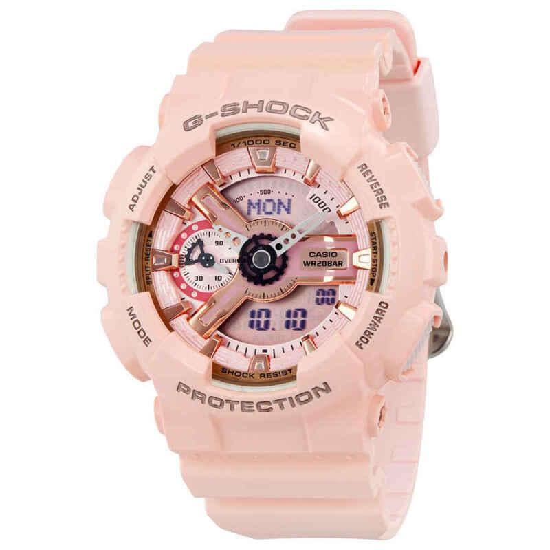 Casio-G-Shock-Digital-Dial-Pink-Resin-Ladies-Watch-GMAS110MP-4A1