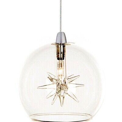 ET2 Lighting Starburst 1-Light RapidJack Pendant in Satin Nickel - EP96080-24
