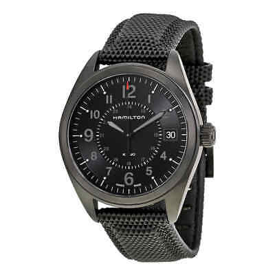 Hamilton Khaki Field Black Dial Black PVD Men's Watch H68401735