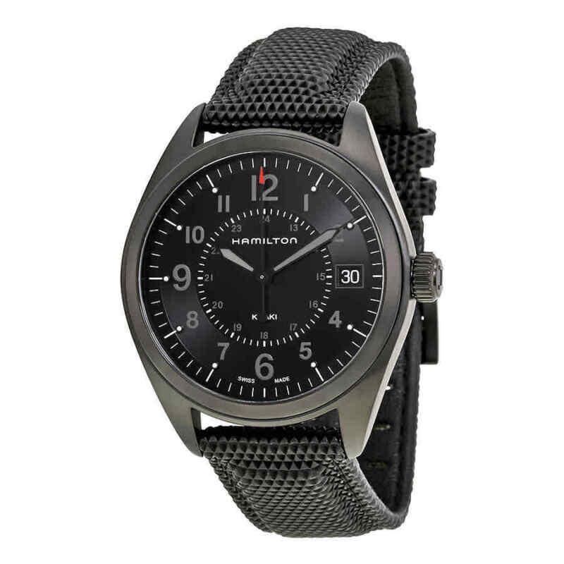 Hamilton-Khaki-Field-Black-Dial-Black-PVD-Men-Watch-H68401735
