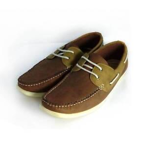 Mens Uncut Boat Shoes Minto Campbelltown Area Preview