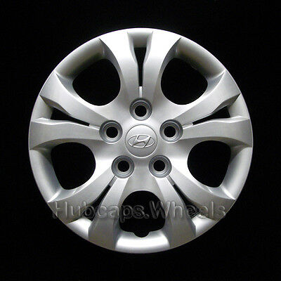 Hyundai Elantra 2010-2016 Hubcap - Genuine Factory OEM Wheel Cover 55566 Silver