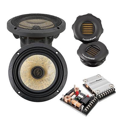 """Precision Power PPi P.65C2 150 Watts 6.5"""" 2-Way Component Speaker System 6-1/2"""""""