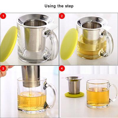 Чай Infusers Tea Strainer Filter Stainless