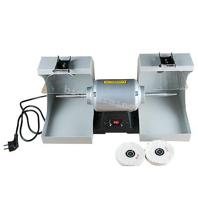 Fda Dental Lab Polishing Lathe Equipment Polisher Machine 2 Dust Hoods 3000rpm