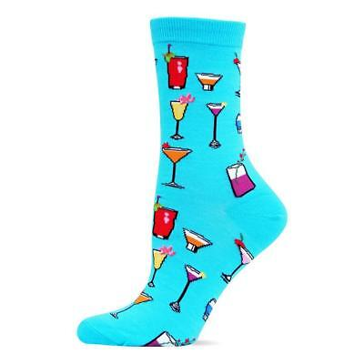 HOT SOX!! COCKTAIL art socks. BRAND NEW TAGS ON