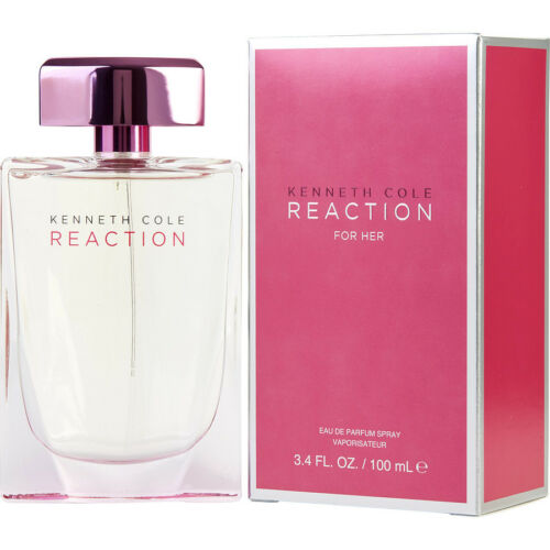 Women Reaction for Her by Kenneth Cole 3.4 oz EDP New In Sealed Box
