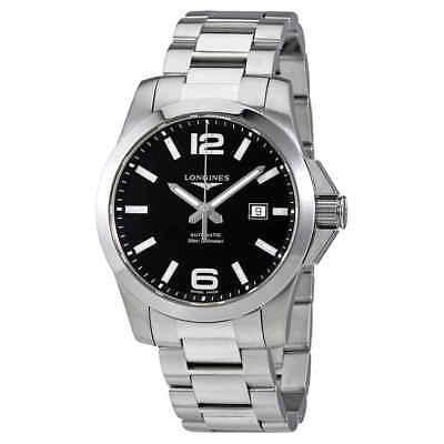 Longines Conquest Black Dial Automatic Men's Watch L3.778.4.58.6